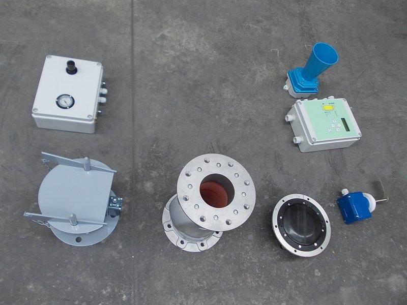 Sistema di controllo e sicurezza per carico sili