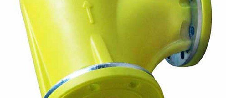 Curve e Giunti per tubazioni trasporto pneumatico