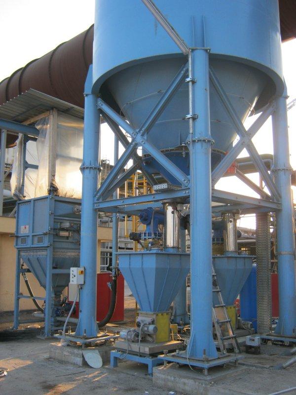 Impianti stoccaggio, dosaggio ed iniezione carboni attivi in polvere